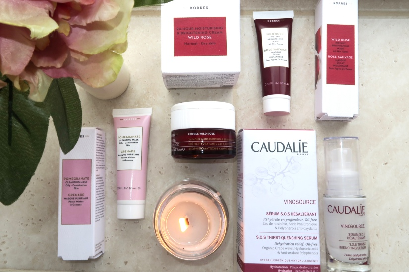 First Impressions || Skincare Empties with Korres & Caudalie